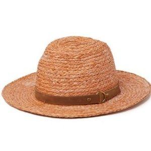 Frye Raffia Harness Hat
